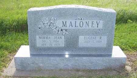 MALONEY, NORMA JEAN - Shelby County, Iowa | NORMA JEAN MALONEY