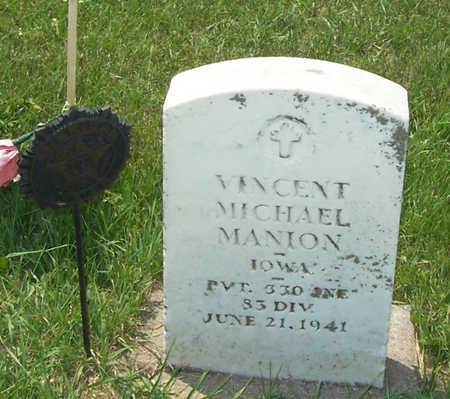 MANION, VINCENT MICHAEL - Shelby County, Iowa | VINCENT MICHAEL MANION