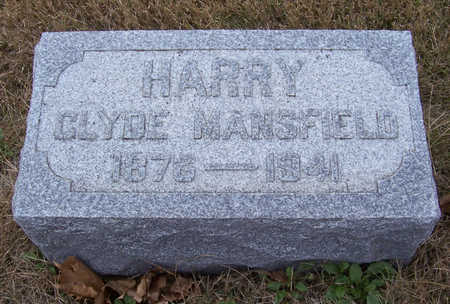 MANSFIELD, HARRY CLYDE - Shelby County, Iowa | HARRY CLYDE MANSFIELD