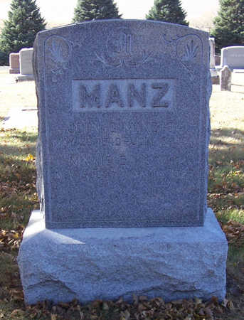 WITT MANZ, MINNIE E. - Shelby County, Iowa | MINNIE E. WITT MANZ