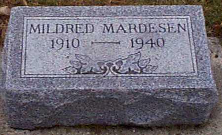 HANSEN MARDESEN, MILDRED - Shelby County, Iowa | MILDRED HANSEN MARDESEN