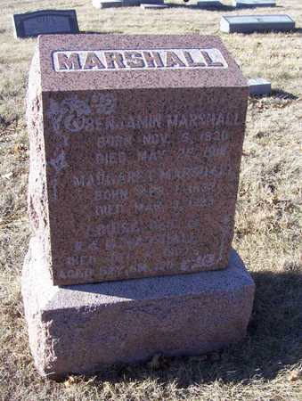 MARSHALL, LOUISA - Shelby County, Iowa | LOUISA MARSHALL