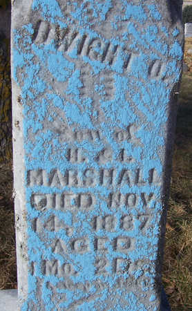 MARSHALL, DWIGHT O. (CLOSE-UP) - Shelby County, Iowa | DWIGHT O. (CLOSE-UP) MARSHALL