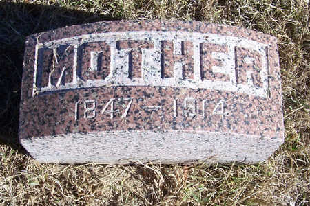 MARSHALL, HESTER (MOTHER) - Shelby County, Iowa | HESTER (MOTHER) MARSHALL