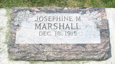 MARSHALL, JOSEPHINE M. - Shelby County, Iowa | JOSEPHINE M. MARSHALL