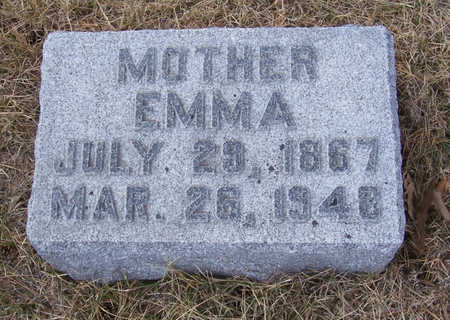 MARTENS, EMMA (MOTHER) - Shelby County, Iowa | EMMA (MOTHER) MARTENS