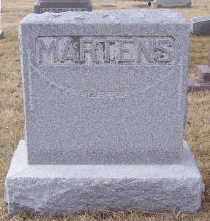 MARTENS, WILHELM & EMMA (LOT) - Shelby County, Iowa | WILHELM & EMMA (LOT) MARTENS
