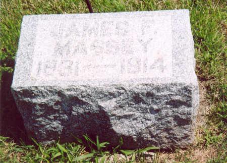 MASSEY, JAMES F. - Shelby County, Iowa | JAMES F. MASSEY
