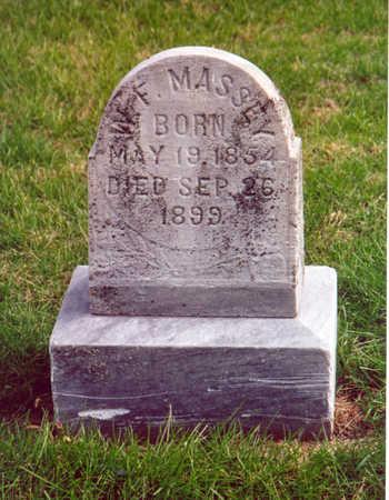 MASSEY, W. F. - Shelby County, Iowa | W. F. MASSEY
