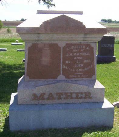 MATHER, ELIZABETH A. - Shelby County, Iowa | ELIZABETH A. MATHER