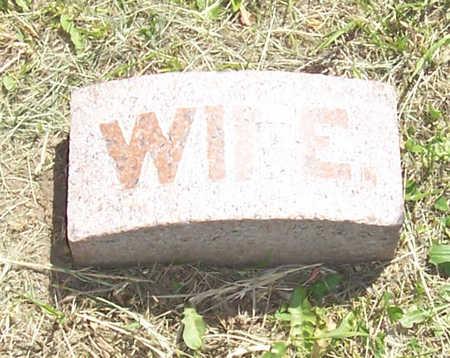 MATHER, ELIZABETH A. (WIFE) - Shelby County, Iowa | ELIZABETH A. (WIFE) MATHER