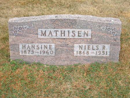 MATHISEN, NIELS R. - Shelby County, Iowa | NIELS R. MATHISEN