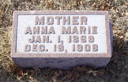 MATTHIESSEN, ANNA MARIE (MOTHER) - Shelby County, Iowa | ANNA MARIE (MOTHER) MATTHIESSEN