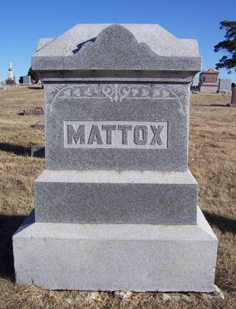 MATTOX, HENRY O. & MARY M. (LOT) - Shelby County, Iowa | HENRY O. & MARY M. (LOT) MATTOX
