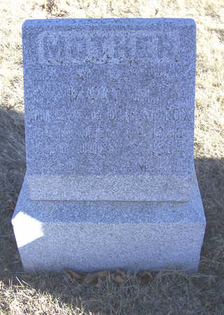 MATTOX, MARY M. (MOTHER) - Shelby County, Iowa   MARY M. (MOTHER) MATTOX