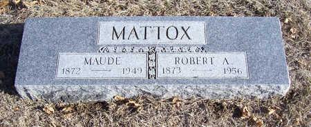 MATTOX, ROBERT A. - Shelby County, Iowa | ROBERT A. MATTOX