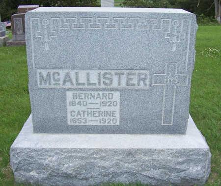 MCALLISTER, BERNARD - Shelby County, Iowa | BERNARD MCALLISTER