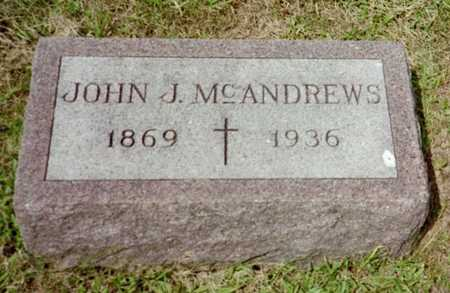 MCANDREWS, JOHN J. - Shelby County, Iowa | JOHN J. MCANDREWS