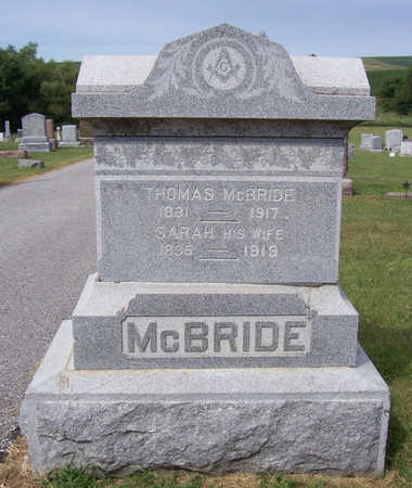 MCBRIDE, SARAH - Shelby County, Iowa | SARAH MCBRIDE