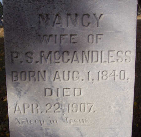 MCCANDLESS, NANCY (CLOSE-UP) - Shelby County, Iowa | NANCY (CLOSE-UP) MCCANDLESS