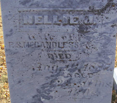 MCCANDLESS, NELLIE J. (CLOSE-UP) - Shelby County, Iowa | NELLIE J. (CLOSE-UP) MCCANDLESS