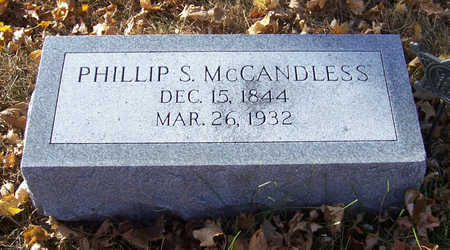 MCCANDLESS, PHILLIP S. - Shelby County, Iowa | PHILLIP S. MCCANDLESS