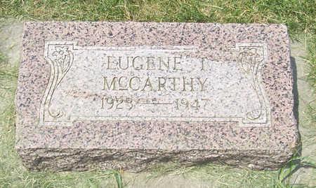 MCCARTHY, EUGENE T. - Shelby County, Iowa | EUGENE T. MCCARTHY