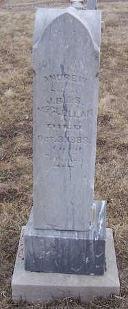 MCCLELLAN, ANDREW - Shelby County, Iowa   ANDREW MCCLELLAN