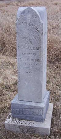 MCCLELLAN, SAMANTHA - Shelby County, Iowa   SAMANTHA MCCLELLAN