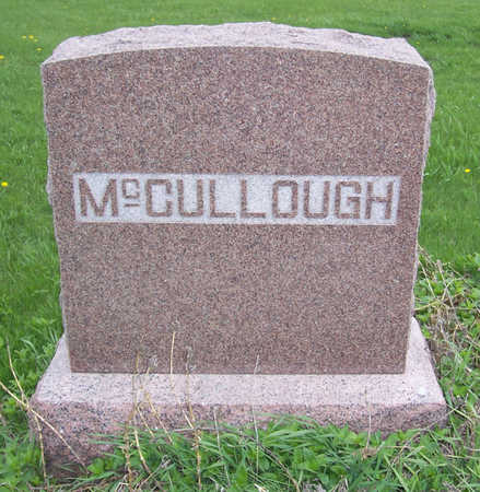 MCCULLOUGH, (FAMILY LOT) - Shelby County, Iowa | (FAMILY LOT) MCCULLOUGH