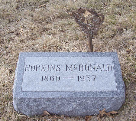 MCDONALD, HOPKINS - Shelby County, Iowa | HOPKINS MCDONALD