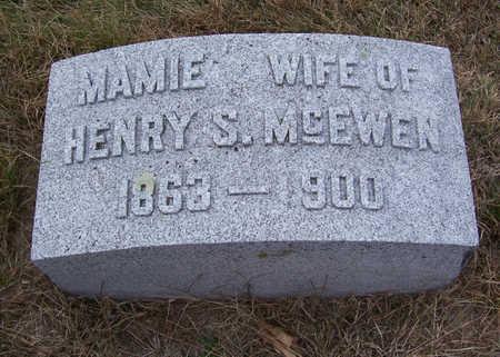 MCEWEN, MAMIE - Shelby County, Iowa | MAMIE MCEWEN