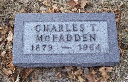 MCFADDEN, CHARLES T. - Shelby County, Iowa   CHARLES T. MCFADDEN