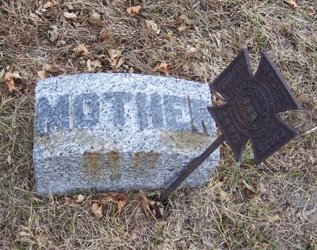 MCFADDEN, KATE (MOTHER) - Shelby County, Iowa | KATE (MOTHER) MCFADDEN