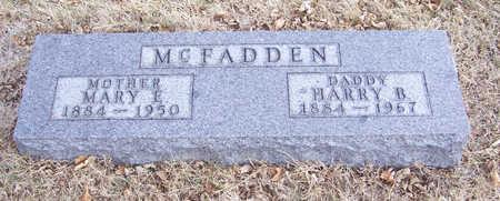 MCFADDEN, MARY E. (MOTHER) - Shelby County, Iowa | MARY E. (MOTHER) MCFADDEN