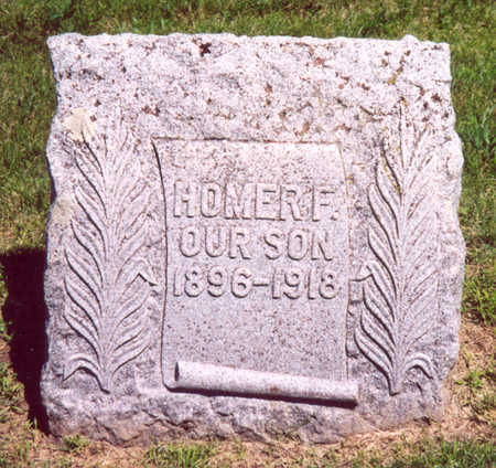 MCGUIRE, HOMER F. - Shelby County, Iowa   HOMER F. MCGUIRE
