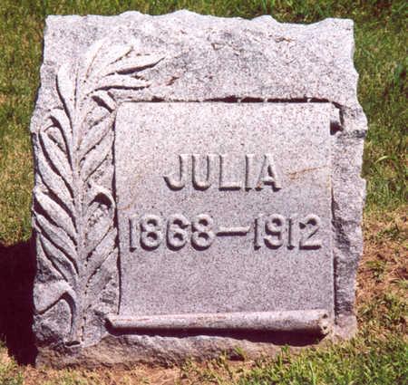 MCGUIRE, JULIA - Shelby County, Iowa | JULIA MCGUIRE