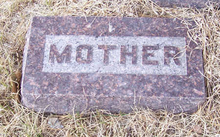 MCINTOSH, HENRIETTA (MOTHER) - Shelby County, Iowa | HENRIETTA (MOTHER) MCINTOSH