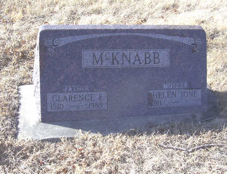 MCKNABB, HELEN IONE (MOTHER) - Shelby County, Iowa | HELEN IONE (MOTHER) MCKNABB