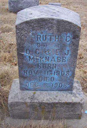 MCKNABB, RUTH C. (BABY) - Shelby County, Iowa | RUTH C. (BABY) MCKNABB