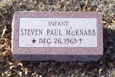MCKNABB, STEVEN PAUL (INFANT) - Shelby County, Iowa | STEVEN PAUL (INFANT) MCKNABB