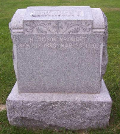 MCKNIGHT, H. JUDSON - Shelby County, Iowa | H. JUDSON MCKNIGHT
