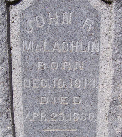 MCLACHLIN, JOHN R. (CLOSE-UP) - Shelby County, Iowa | JOHN R. (CLOSE-UP) MCLACHLIN