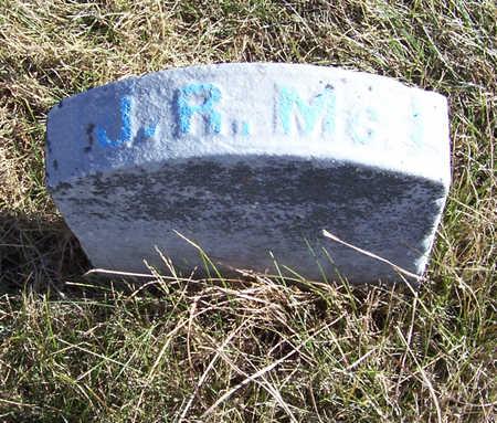 MCLACHLIN, JOHN R. - Shelby County, Iowa | JOHN R. MCLACHLIN