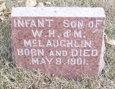 MCLAUGHLIN, INFANT SON (1) - Shelby County, Iowa | INFANT SON (1) MCLAUGHLIN