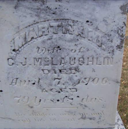 MCLAUGHLIN, MARTHA M. (CLOSE-UP) - Shelby County, Iowa | MARTHA M. (CLOSE-UP) MCLAUGHLIN