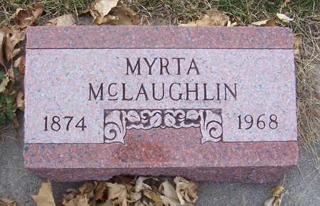 MCLAUGHLIN, MYRTA - Shelby County, Iowa | MYRTA MCLAUGHLIN