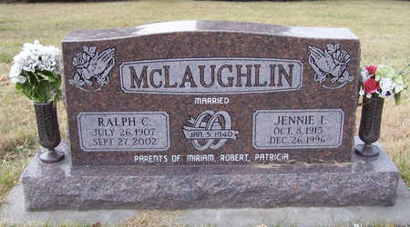 MCLAUGHLIN, JENNIE I. - Shelby County, Iowa   JENNIE I. MCLAUGHLIN