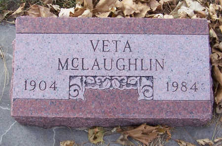 MCLAUGHLIN, VETA - Shelby County, Iowa | VETA MCLAUGHLIN