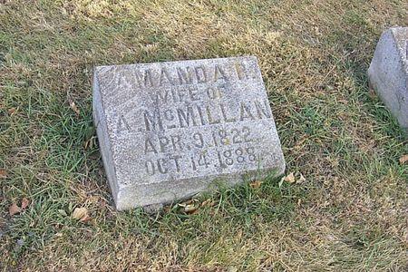 MCMILLAN, AMANDA R. - Shelby County, Iowa | AMANDA R. MCMILLAN